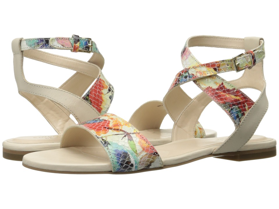 Cole Haan - Fenley Sandal (Sandshell Leather/Floral Print) Women's Shoes