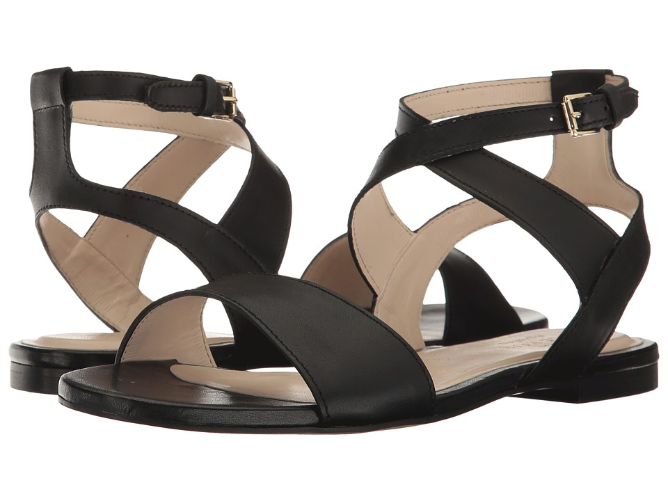 Cole Haan - Fenley Sandal (Black Leather) Women's Shoes