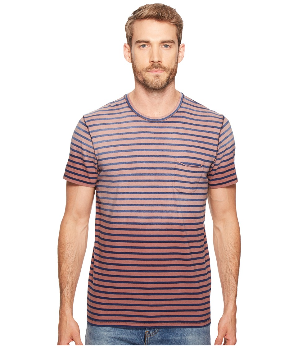 Joe's Jeans - Stripe Tee (Bleached Stripe) Men's T Shirt