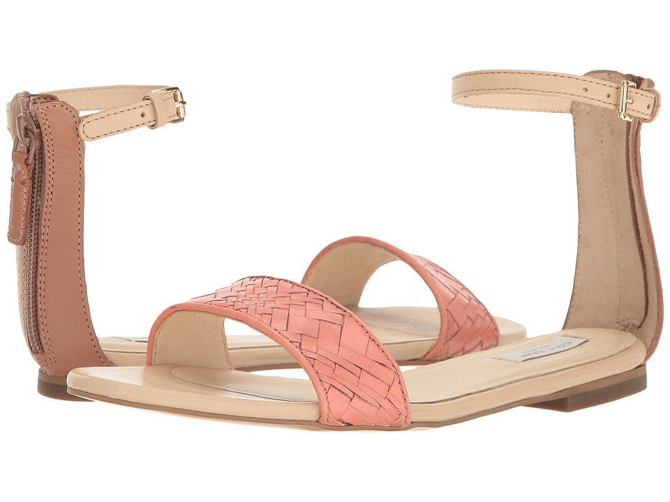 Cole Haan Genevieve Weave Sandal (Nectar Genevieve Weave/Mocha Mousse Leather/Nude Leather) Women