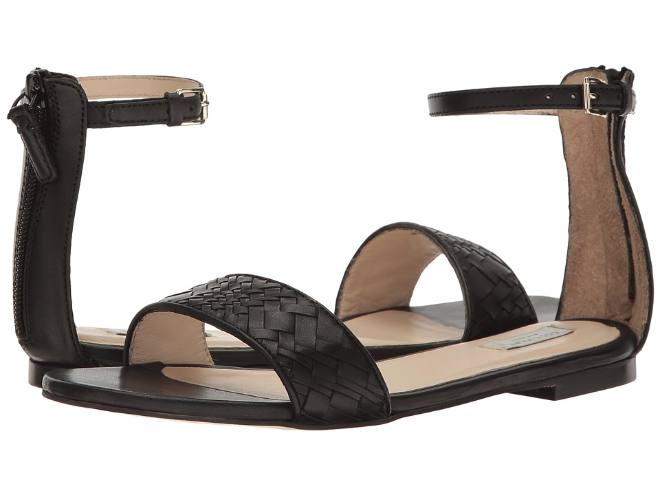 Cole Haan - Genevieve Weave Sandal (Black Genevieve Weave/Black Leather) Women's Shoes