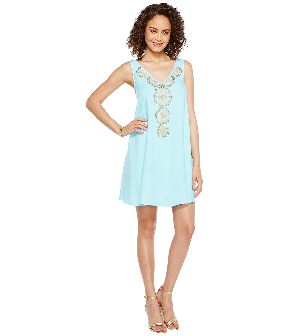 Lilly Pulitzer - Fia Dress (Serene Blue) Women's Dress
