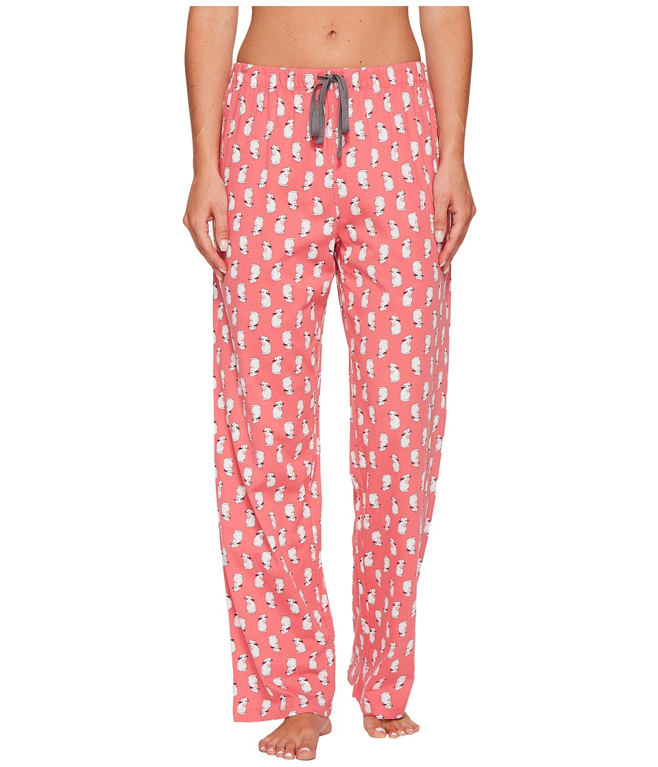 Jockey - Cotton Jersey Printed Long Pants (Content Cats) Women's Pajama