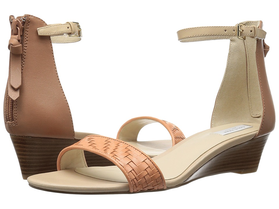 Cole Haan Genevieve Weave Wedge (Nectar Genevieve Weave/Mocha Mousse Leather/Nude Leather) Women