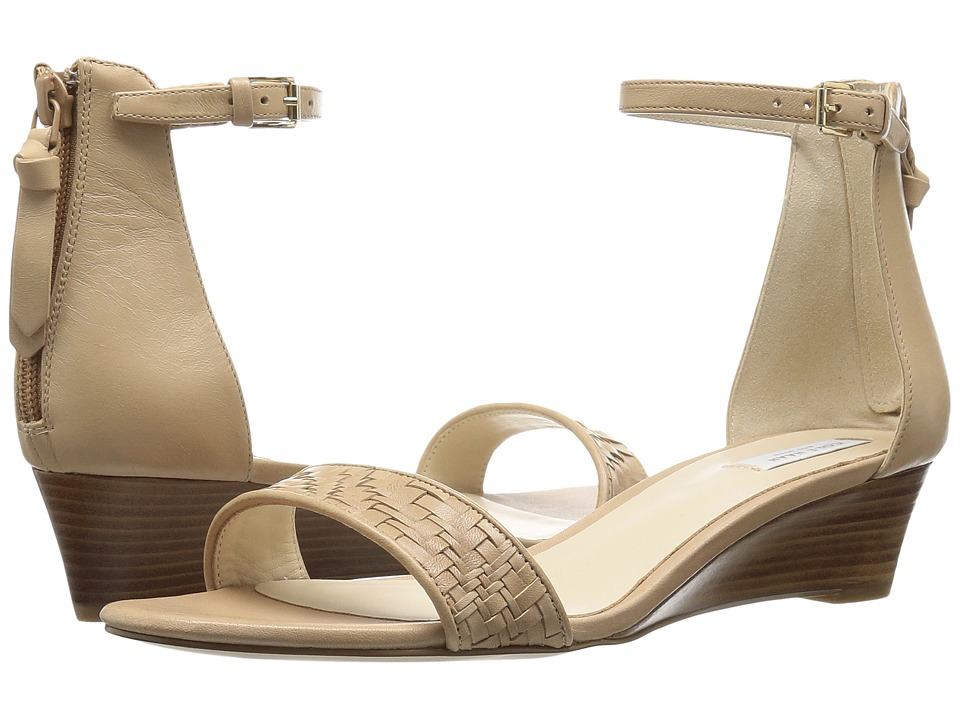 Cole Haan - Genevieve Weave Wedge (Sandstone Genevieve Weave/Sandstone Leather) Women's Shoes