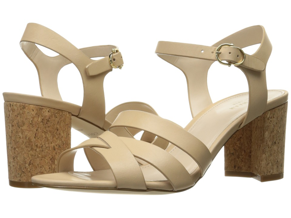 Cole Haan - Jianna Mid Sandal (Nude Leather/Cork) Women's Shoes