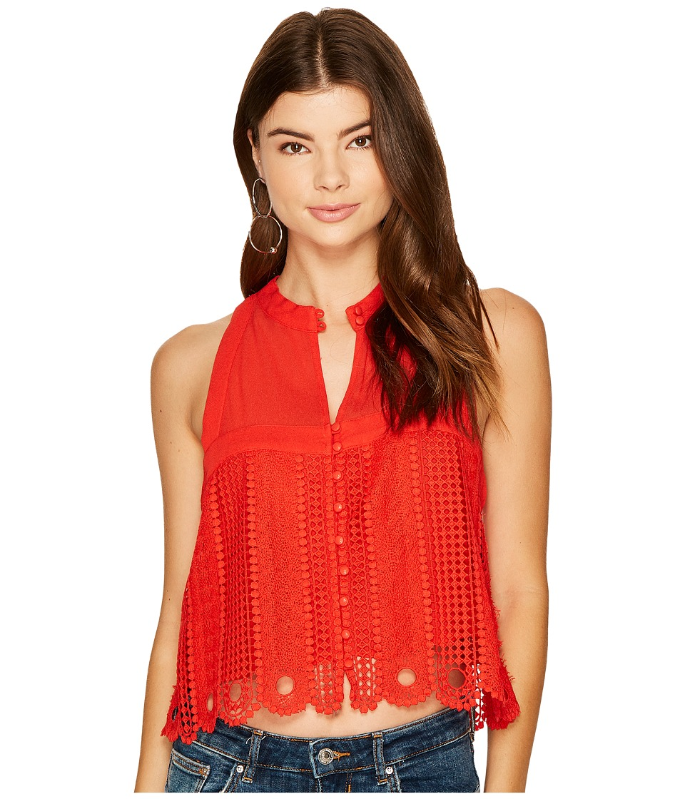 Free People - Rory Tank Top (Red) Women's Sleeveless