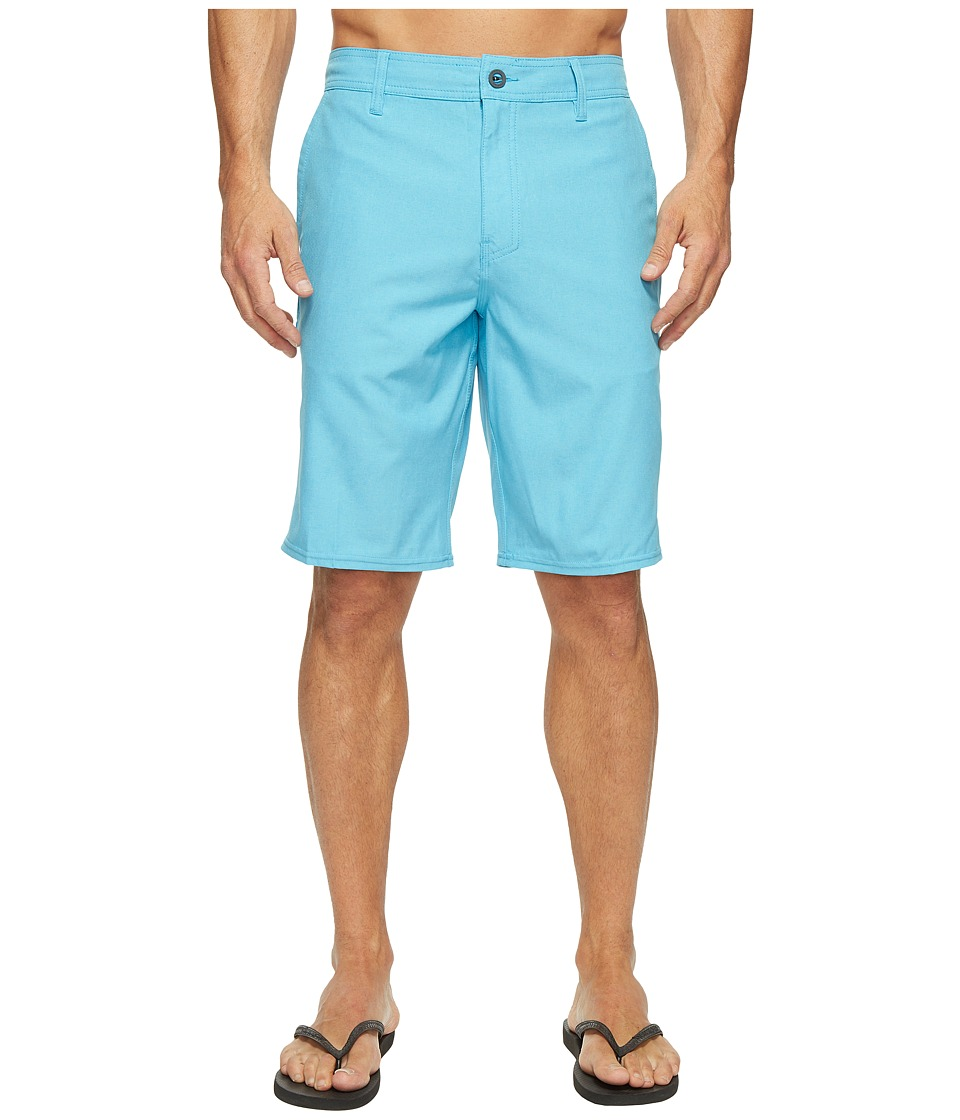O'Neill - Loaded Heather Hybrid Boardshorts (Light Blue Heather) Men's Swimwear