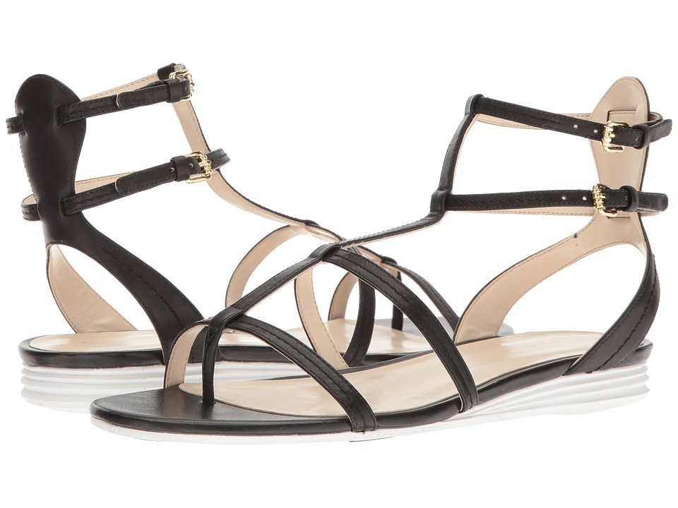 Cole Haan - Original Grand Gladiator Sandal (Black Leather) Women's Shoes