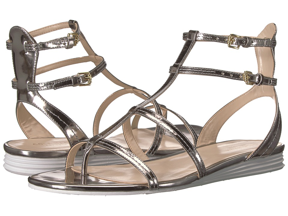 Cole Haan - Original Grand Gladiator Sandal (Pewter Metallic Leather) Women's Shoes
