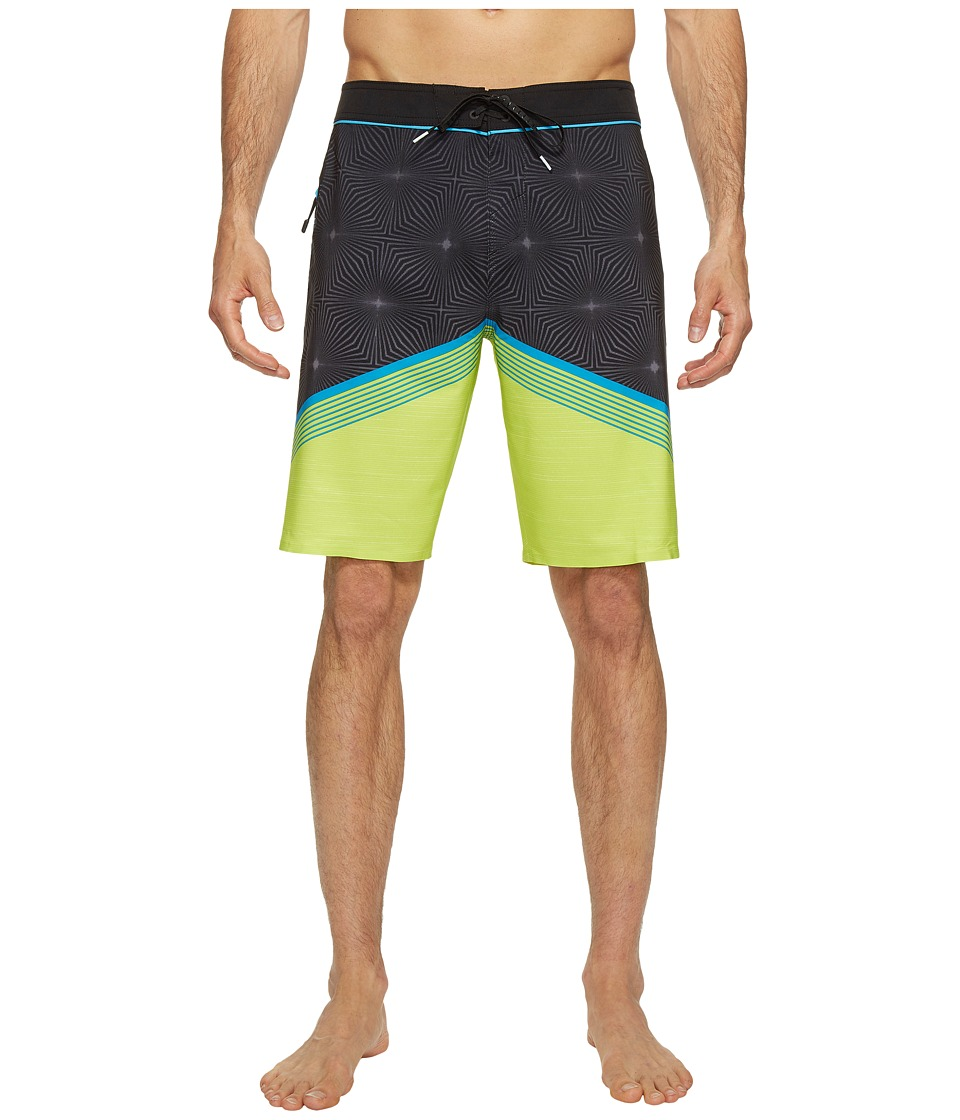 O'Neill - Hyperfreak Illusion Boardshorts (Lime) Men's Swimwear