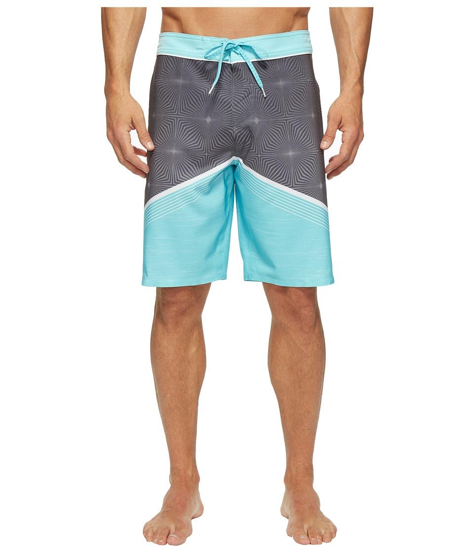 O'Neill - Hyperfreak Illusion Boardshorts (Turquoise) Men's Swimwear