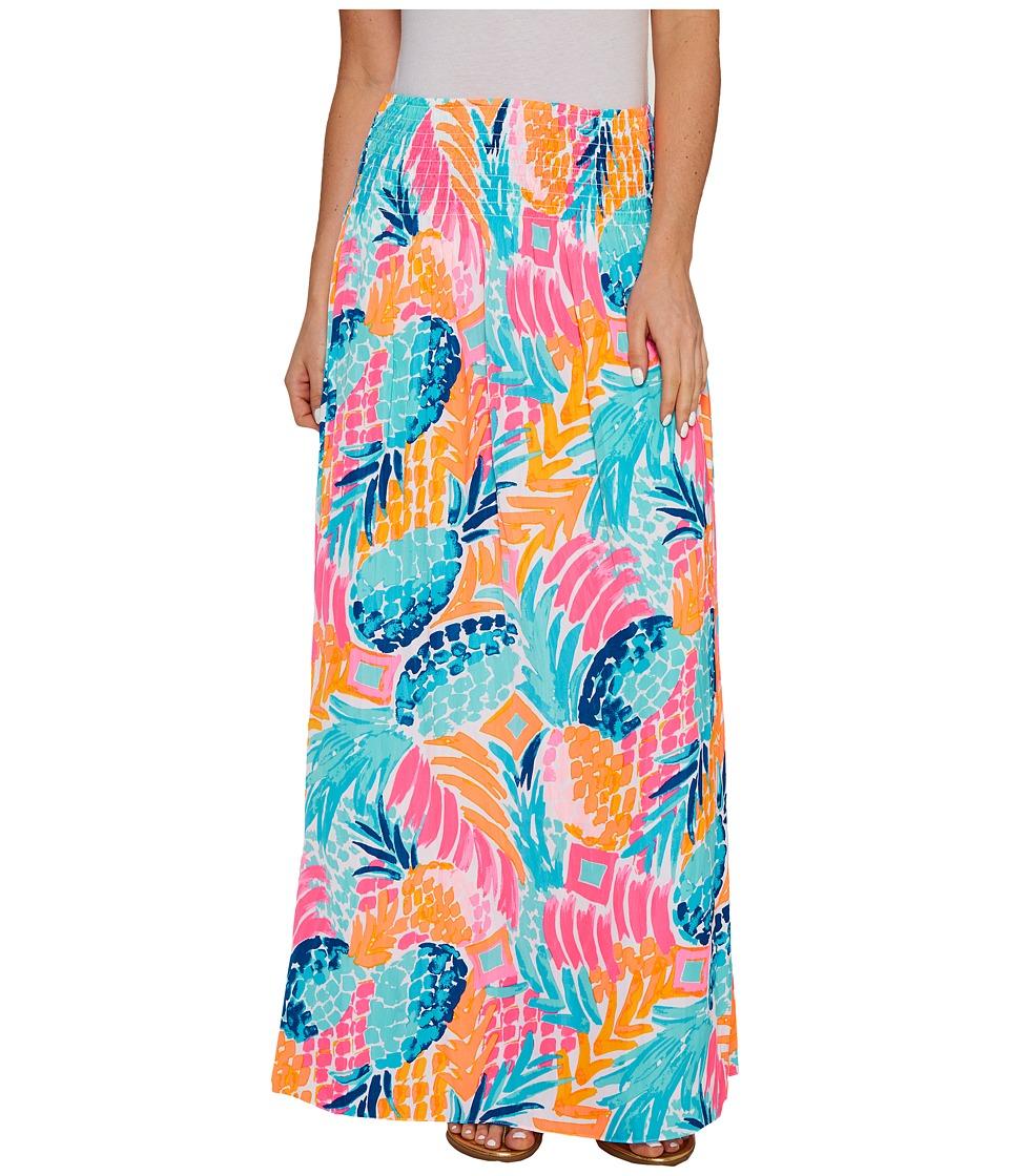 Lilly Pulitzer - Bohdi Maxi Skirt (Multi Goombay Smashed) Women's Skirt