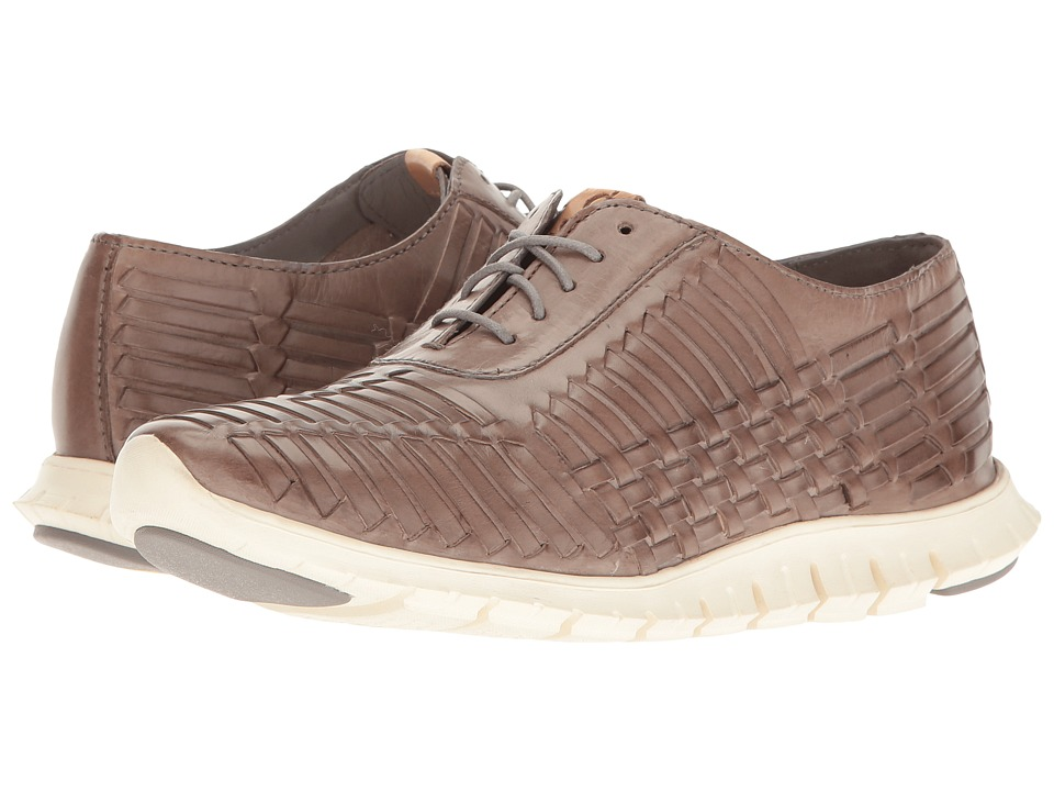 Cole Haan - Zerogrand Huarache Oxford (Ironstone Leather) Women's Lace up casual Shoes