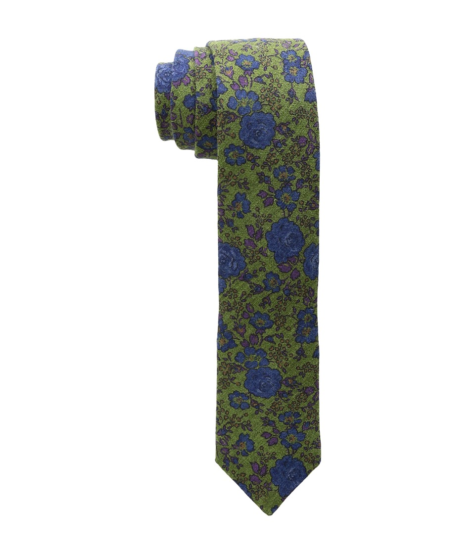Ted Baker - Floral Scroll Wardrobe (Green) Ties