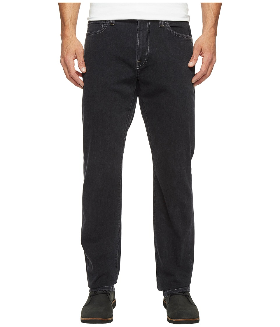 Agave Denim - Classic Fit Graniteville in Black (Black) Men's Jeans