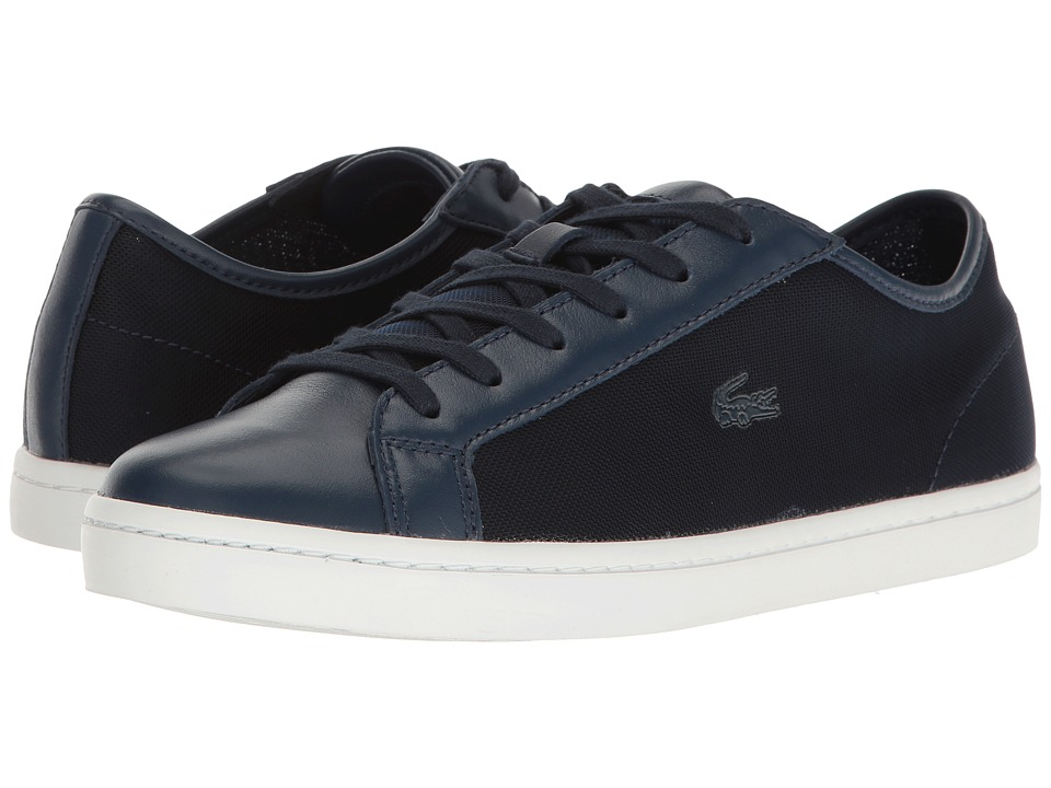 Lacoste - Straightset 217 1 (Navy) Women's Shoes