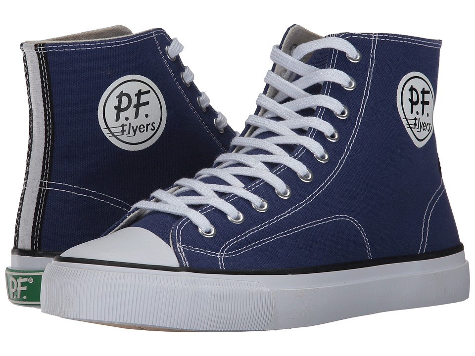 PF Flyers - All American Hi (Basin Canvas) Men's Lace up casual Shoes