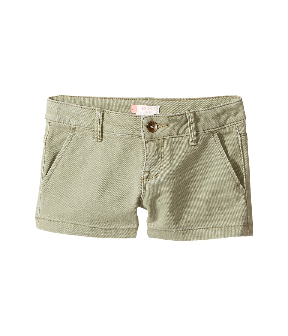 Roxy Kids - Ur True Dreams Shorts (Big Kids) (Oil Green) Girl's Shorts
