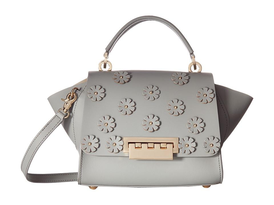 ZAC Zac Posen - Eartha Iconic Mini Top-Handle w/ Floral Applique (Cloud) Top-handle Handbags