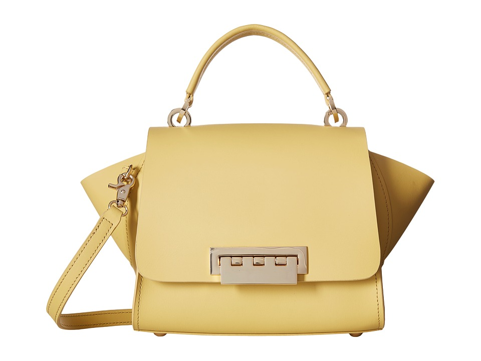 ZAC Zac Posen - Eartha Iconic Mini Top-Handle Solid (Yellow) Top-handle Handbags