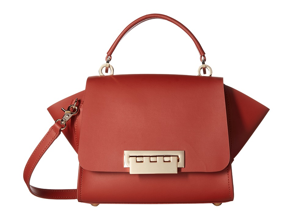 ZAC Zac Posen - Eartha Iconic Mini Top-Handle Solid (Spice) Top-handle Handbags