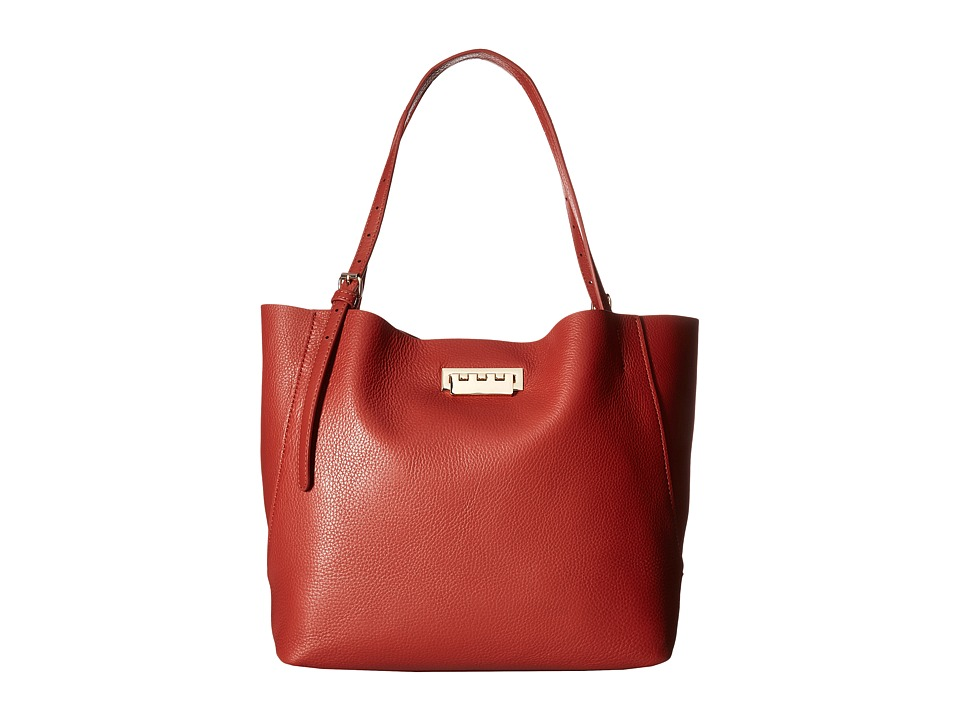 ZAC Zac Posen - Eartha Relaxed Shopper Pebble (Spice) Tote Handbags
