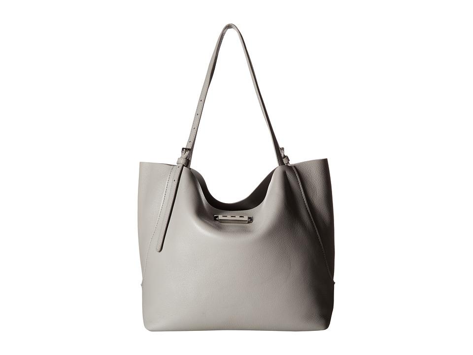 ZAC Zac Posen - Eartha Relaxed Shopper Pebble (Cloud) Tote Handbags