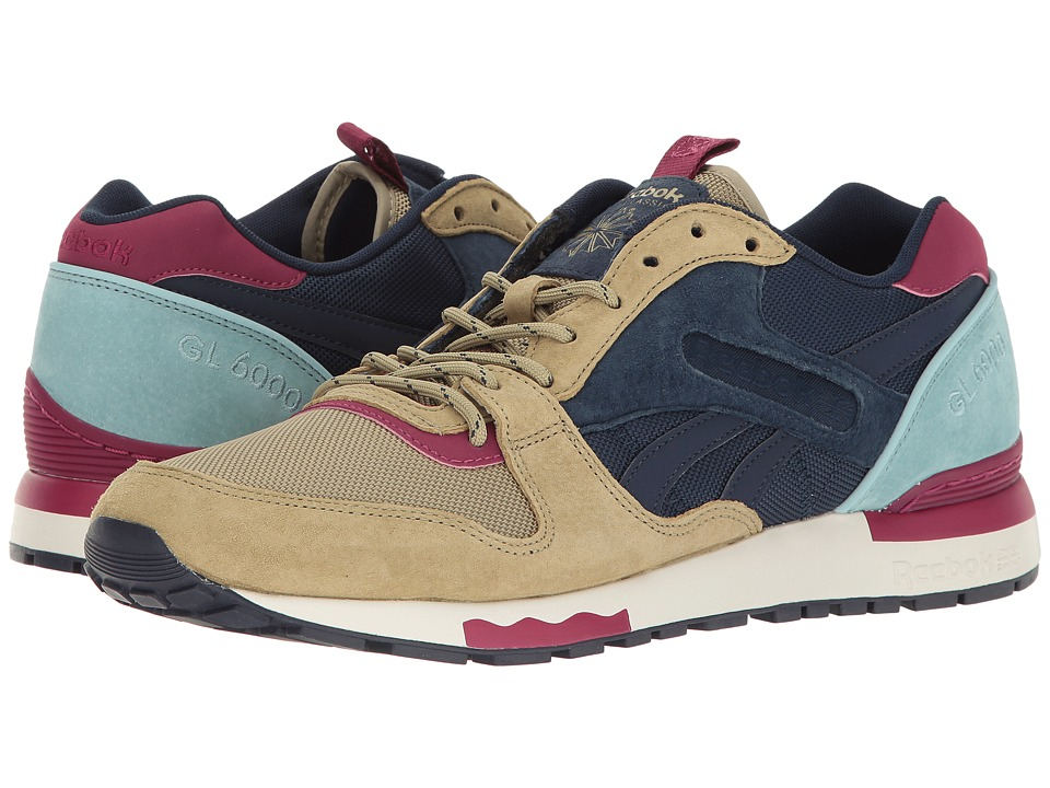 Reebok - GL 6000 BP (Acid Gold/Collegiate Navy) Men's Shoes