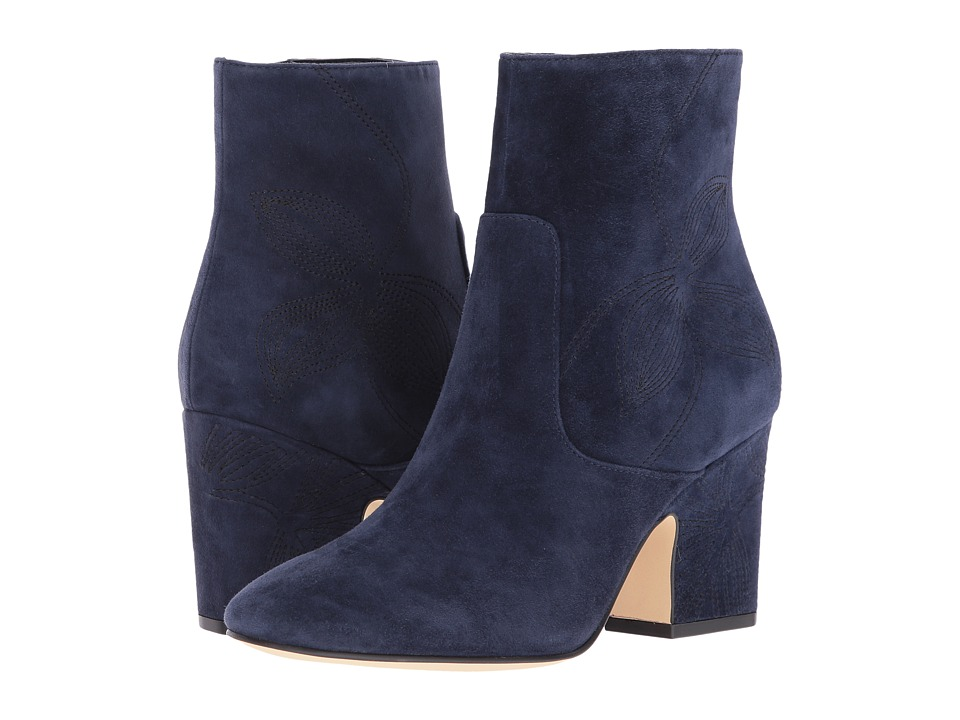 Marc Fisher LTD Johnny (Chic Navy Suede) Women