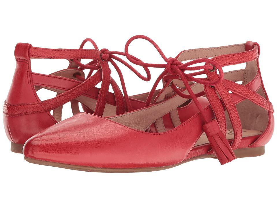 Miz Mooz - Buffy (Red) Women's Sandals