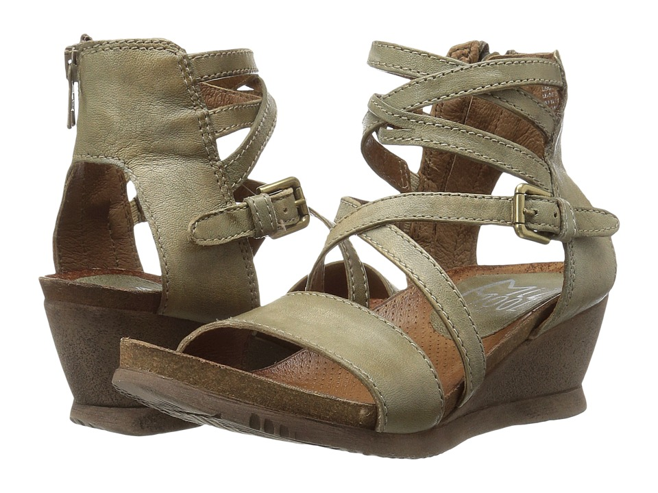 Miz Mooz - Shay (Sage) Women's Wedge Shoes
