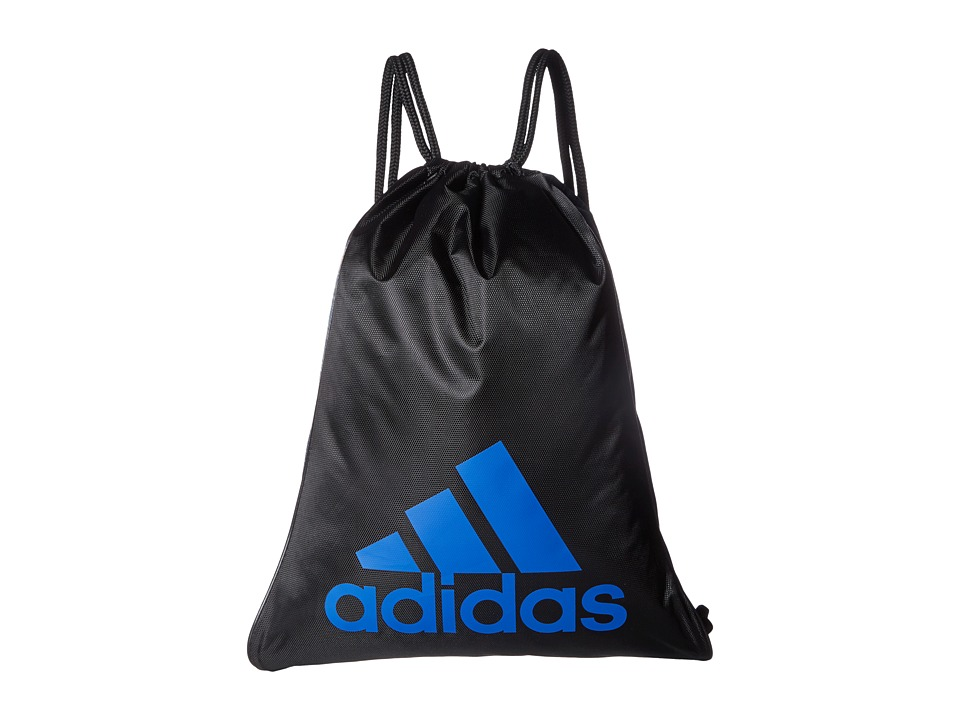 adidas - Burst Sackpack (Black/Looper Core Blue/Blue) Bags