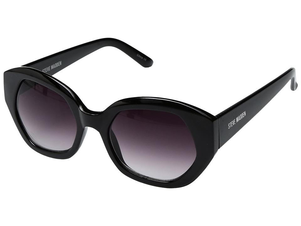 Steve Madden - Frankie (Black) Fashion Sunglasses
