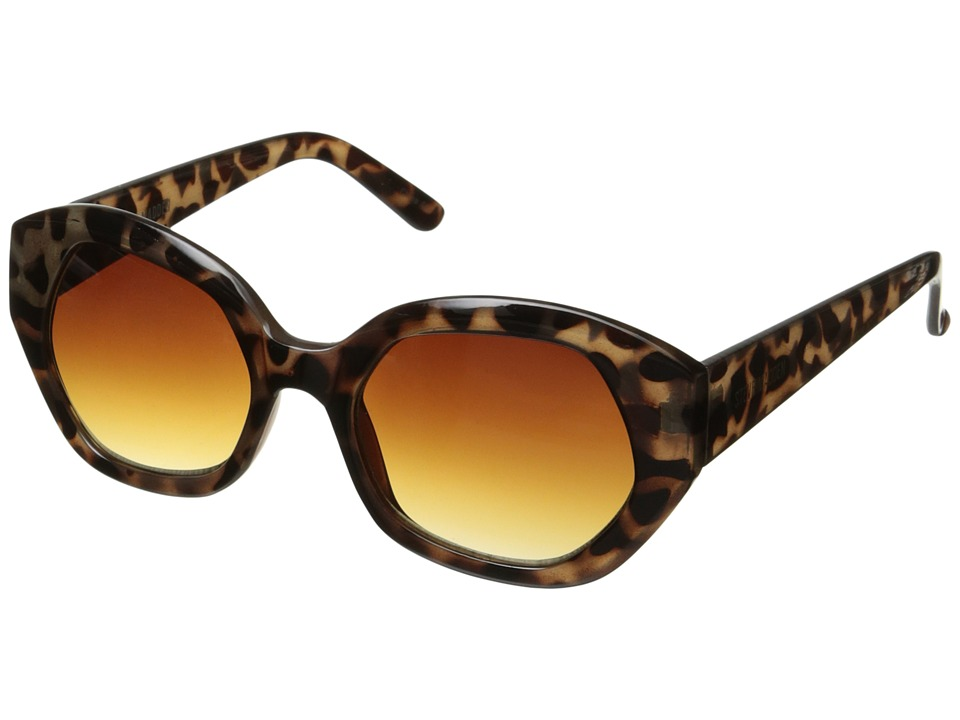 Steve Madden - Frankie (Leopard) Fashion Sunglasses