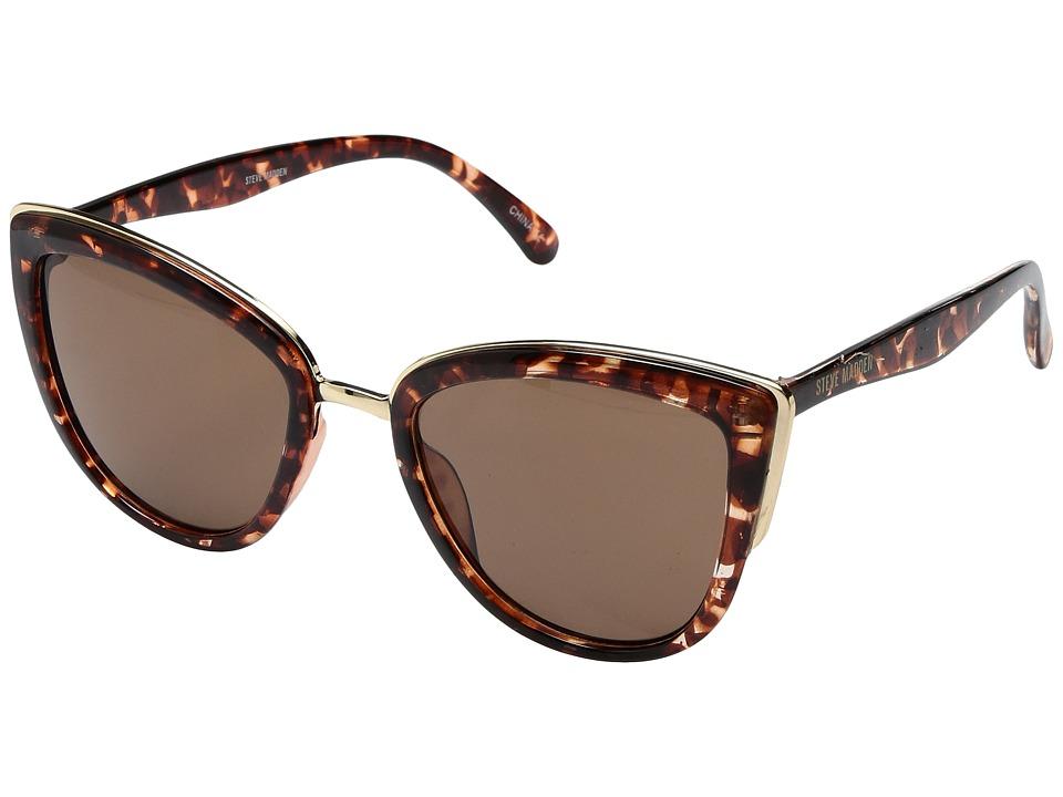 Steve Madden - Penelope (Tortoise) Fashion Sunglasses