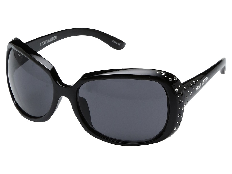 Steve Madden - Kourtney (Black) Fashion Sunglasses