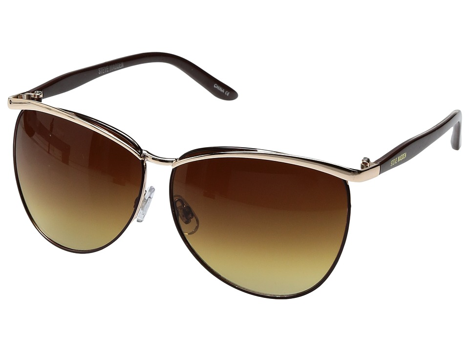 Steve Madden - Kendall (Black) Fashion Sunglasses