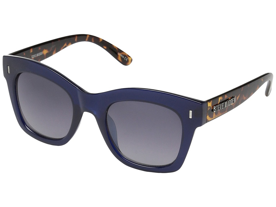 Steve Madden - Monica (Blue Tortoise) Fashion Sunglasses
