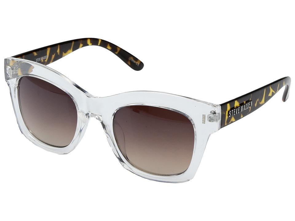 Steve Madden - Monica (Clear) Fashion Sunglasses