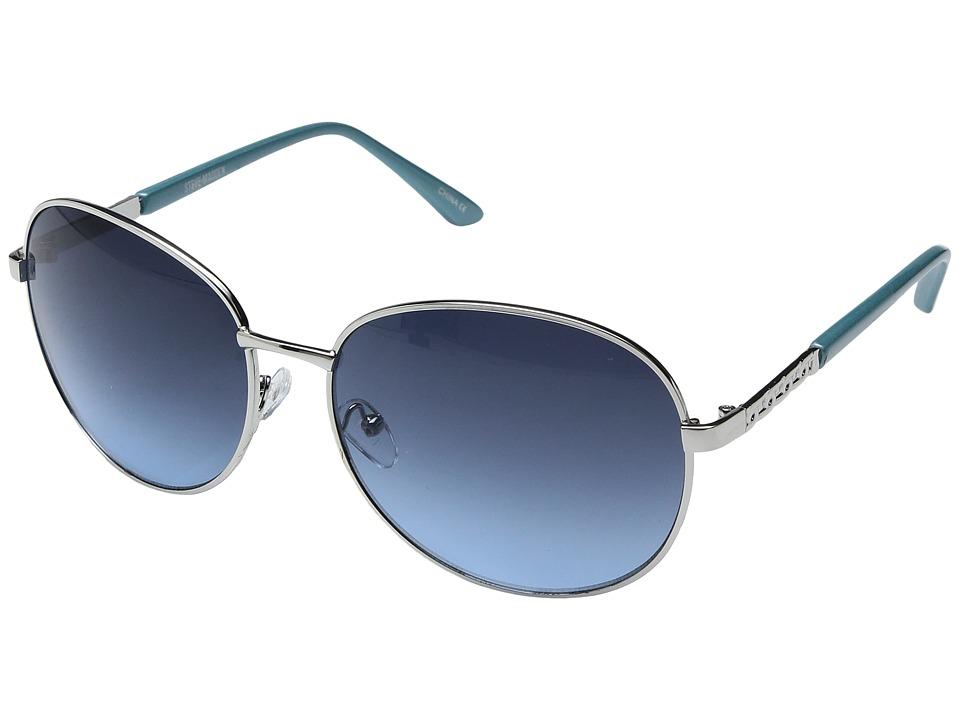 Steve Madden - Aria (Blue) Fashion Sunglasses
