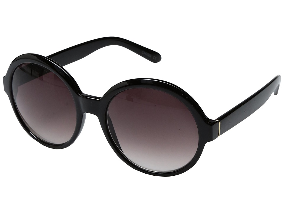 Steve Madden - Luca (Black) Fashion Sunglasses