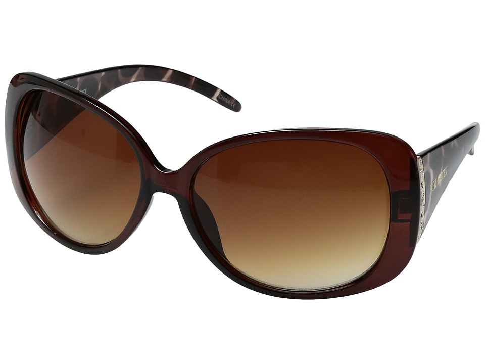 Steve Madden - Kylie (Brown Animal) Fashion Sunglasses