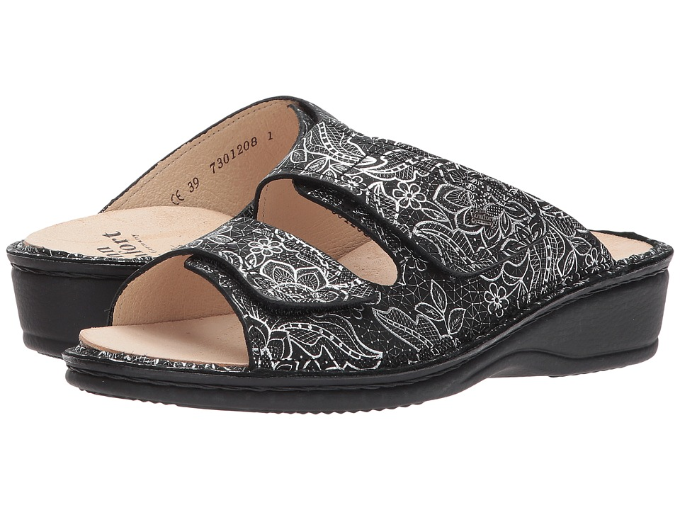 Finn Comfort Jamaica (Nero Jefferson) Women