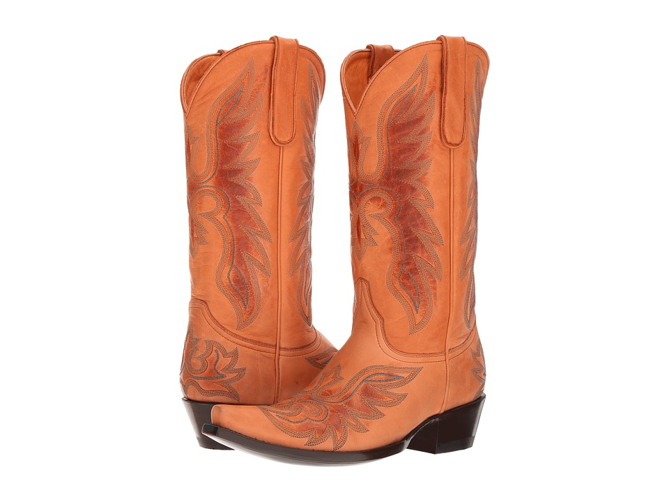 Old Gringo Brave (Honey) Cowboy Boots