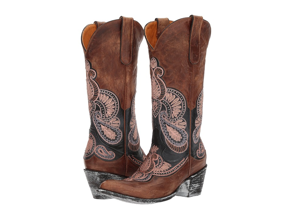 Old Gringo Bell (Blue/Oryx) Cowboy Boots