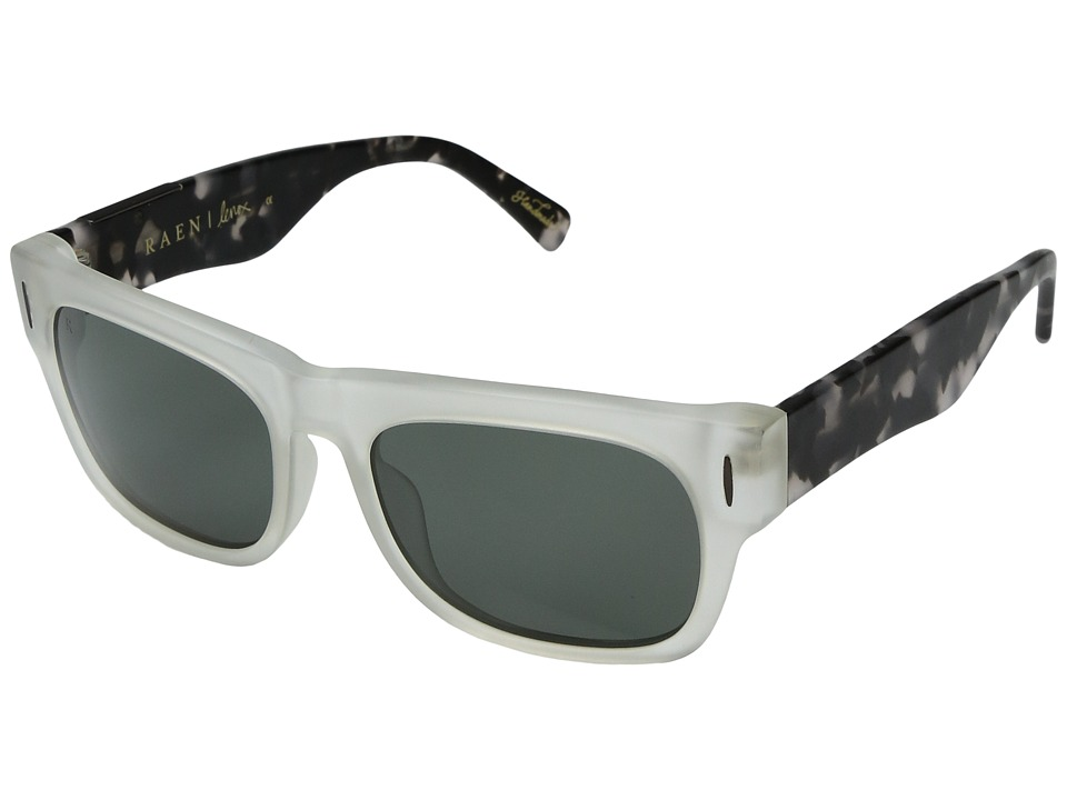 RAEN Optics - Lenox (Matte Crystal + Matte Pebble Tortoise) Sport Sunglasses