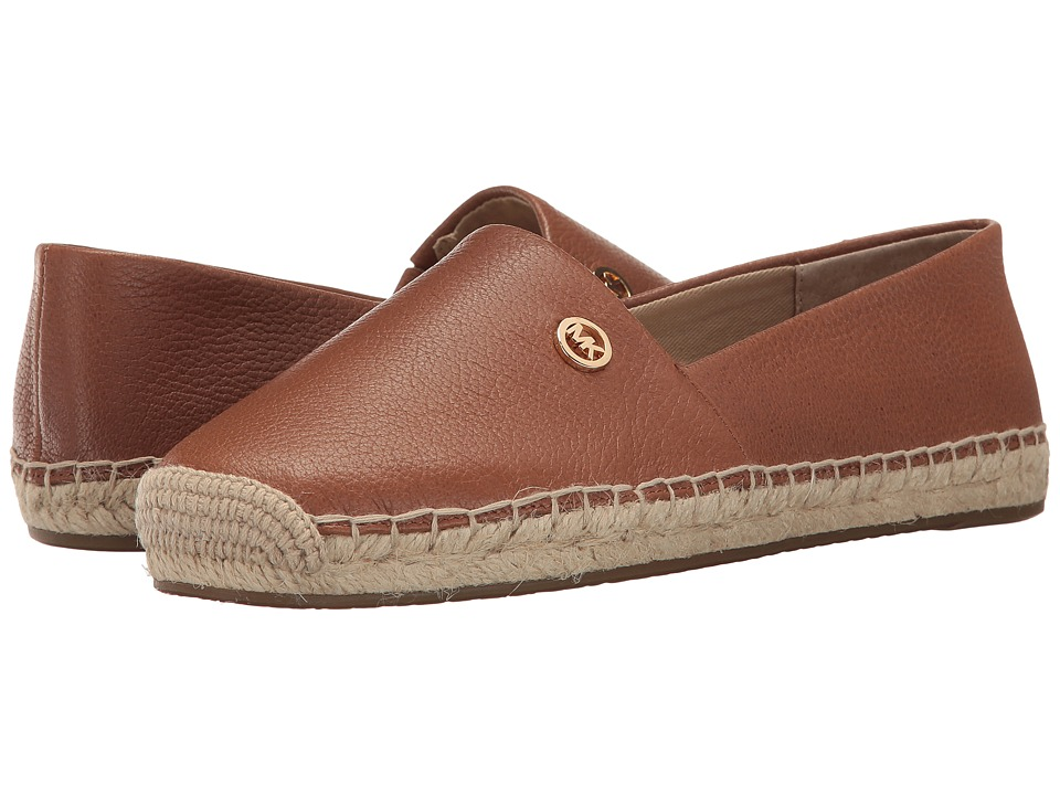 MICHAEL Michael Kors - Kendrick Slip-On (Luggage) Women's Slip on Shoes