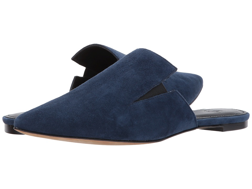 Marc Fisher LTD Shiloh (Dark Blue Suede) Women