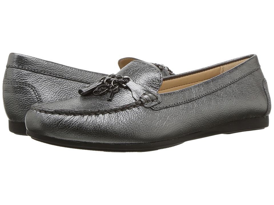 MICHAEL Michael Kors - Suki Moc (Gunmetal) Women's Shoes